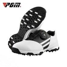 PGM детская обувь для гольфа водонепроницаемые спортивные кроссовки Удобная Обувь для мальчиков дышащая обувь для тренировок Новое поступление D0847
