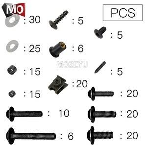 Image 5 - Valkyrie vis pour moto, boulons, pare brise pour Honda STX1300, carénage, XL1000, XL125V et 600 Varadero/ABS, 700, 650 et V1 3