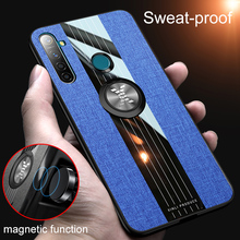 Magnetic Shockproof Cover for OPPO Realme 5 Pro Q Case TPU Silicone Cl