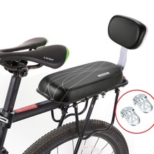 MTB из искусственной кожи, мягкое заднее сиденье для велосипеда, задняя стойка для велосипеда, детское сиденье для велосипеда, спинка для велосипеда
