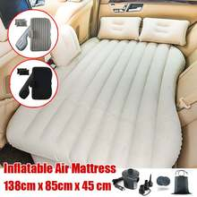 Inflatable Mattress Air Bed Sleep Rest Car SUV Travel Bed Universal Car Seat Bed Multi Functional for Outdoor Camping Beach