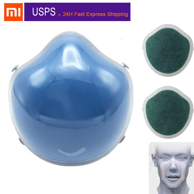 Xiaomi Mijia Youpin Q7 Electric Face Air Fiter With Activated Carbon Filter For PM2.5 Anti-Pollution Exhaust Gas Pollen Allergy