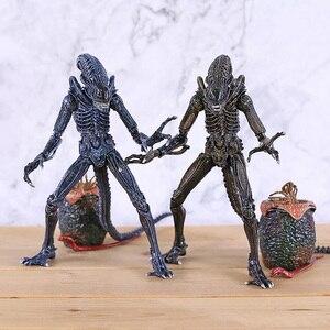 Инопланетянин, синий, серый Инопланетянин, эякугеры, нагрудник, фигурка, модель игрушки