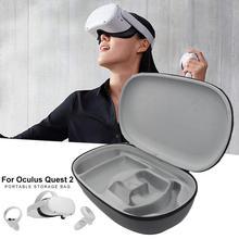 Akcesoria VR do Oculus Quest 2 zestaw do wirtualnej rzeczywistości torba podróżna twarda torba do przechowywania EVA do Oculus Quest2 pokrowiec ochronny tanie tanio Rondaful Brak CN (pochodzenie) Other Wciągające Virtual Reality