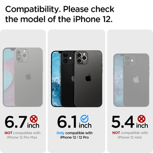 "Image 2 - Spigen Slim Armor Case for iPhone 12 Pro / iPhone 12 (6.1"")    Drop Resistance & Kickstand Cases"