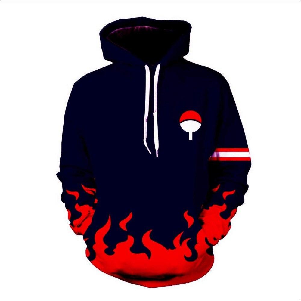 Anime Naruto Hoodie 4th 7th Hokage Uzumaki Naruto Uchiha Sasuke Hatake Kakashi Ootutuki Zipper Coat Tops Thin Hoodies Sweatshirt