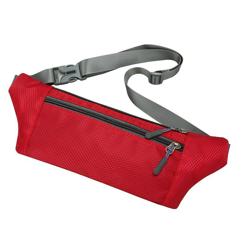 Men Waist Bag Sports Large Capacity Waterproof Lightweight Comfort Multi-function Sports Portable Outdoor Running Pocket