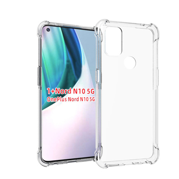 For OnePlus Nord N10 5G Case Airbag Super Protection Soft Clear Back Phone Cases For OnePlus Nord N100 Cover