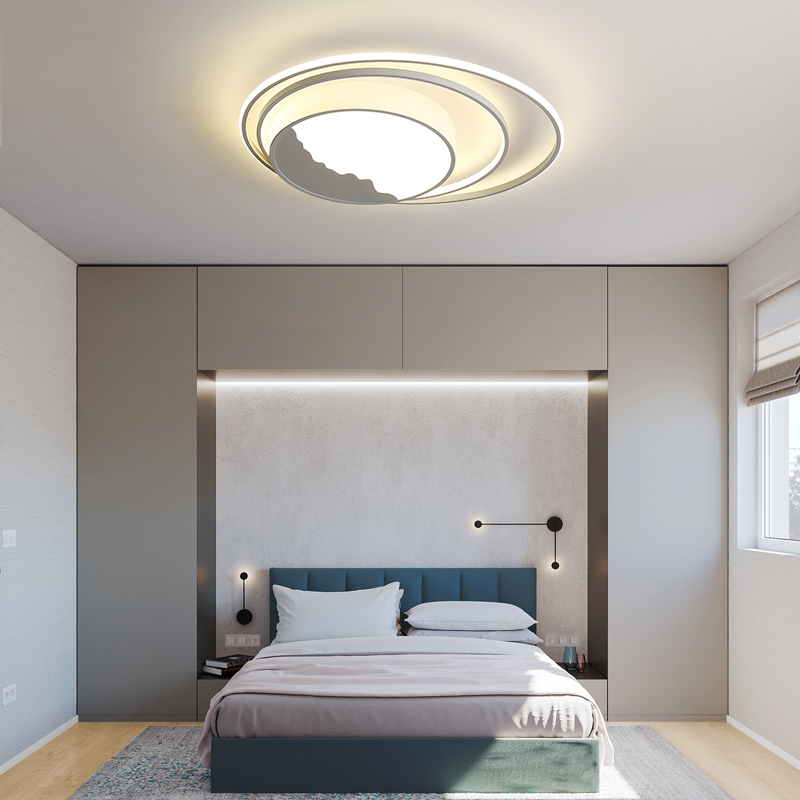 Round Modern Led Ceiling Lights For Living Room Bedroom Study Room nordic decoration home Dimmable Ceiling Lamp Light Fixtures