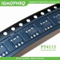 10 unids/lote PT4115 SOT-89-5 conductor IC/convertidor buck LED/LED controlador de corriente constante original nuevo