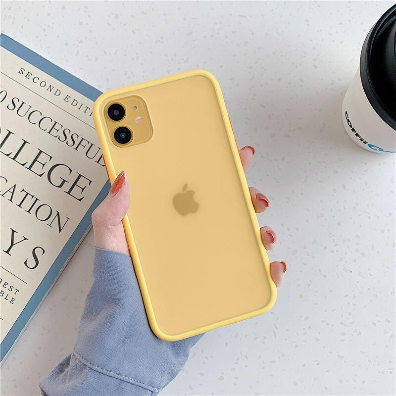כיסוי סיליקון מאט עבור מכשירי iPhone 2