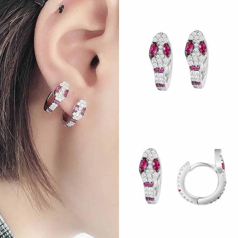 ใหม่ 1PC ขนาดเล็ก Hoop ต่างหูสีขาวสีโลหะต่างหูเกาหลีแฟชั่นผู้หญิง Elegant เครื่องประดับคุณภาพสูง