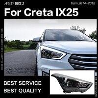 AKD Car Styling Head Lamp for Hyundai Creta Headlights 2014 2018 New IX25 LED Headlight DRL Hid Bi Xenon Auto Accessories
