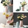 Vase European Home Decoration Anti-ceramic Vase Accessories Plastic Modern Unbreakable Creative Wedding Decoration Flowers 3