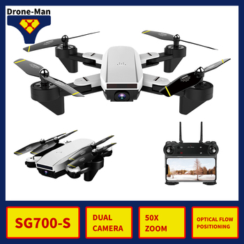 SG700-S Professional Camera Drone 4K WIFI HD FPV RC Dron Aircraft Quadcopter Helicopter Selfie Foldable Toys Kid Dual Camera