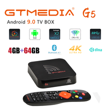 GTMEDIA G5 Android 9.0 TV box Built-in Wifi 2.4G+5G Support