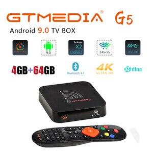 GTMEDIA G5 Android 9.0 TV box