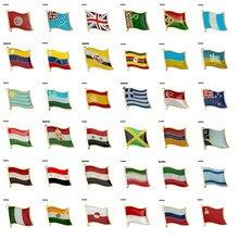 Bayrak yaka Pin rozeti broş tunus Tuvalu türkmenistan Venezuela Uganda ukrayna Uruguay özbekistan İspanya yunanistan singapur