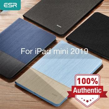 ESR Case for iPad mini 5 2019 Oxford Cloth PU Leather Smart Book Cover Auto Sleep/Wake Stand Folio 7.9