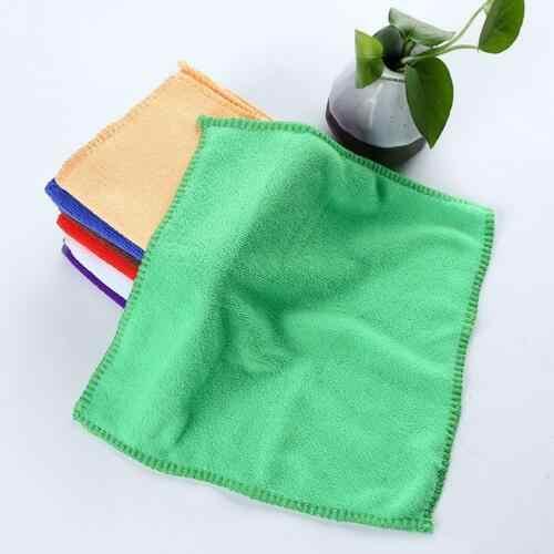 10Pcs Mikrofaser Küche Waschen Auto Auto Home Trockenen Polieren Tuch Reinigung Handtuch T