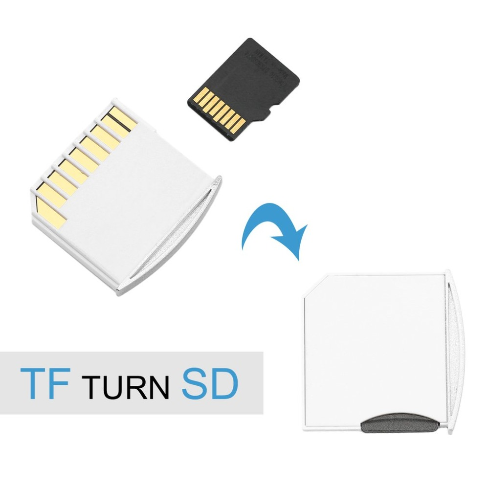 1 Pcs Hot Micro For SD Card Adapter TF Memory To Short For SD Adapter For MacBook Pro Air Drop Shipping