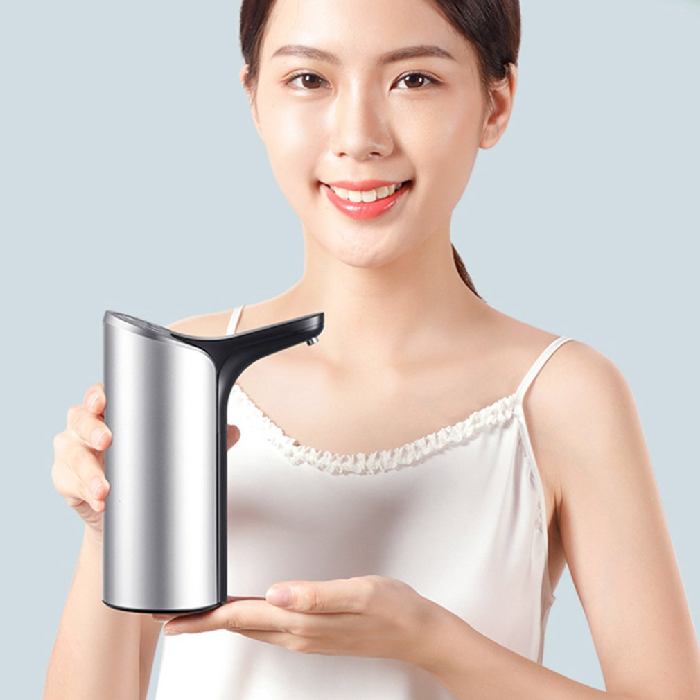 Купить с кэшбэком Barreled Water Dispenser Pump Calm While Working No Bpa Plastics Food Grade Silicone Tube Bottled Water Pump