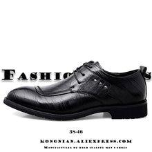Мужские весенние кожаные туфли новые модные черные однотонные