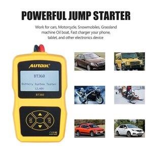 Image 5 - AUTOOL BT360 Car Battery Tester Analyzer Digital 12V Auto Automotive Diagnostic Batterys Analyzer CCA BT 360