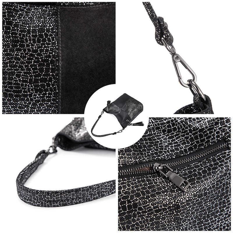 Realer женская сумка из натуральной кожи, женская сумка через плечо, Лоскутная Высококачественная сумка-мессенджер, женская дизайнерская роскошная сумка