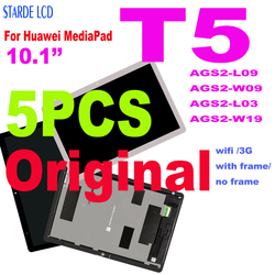 5 PCS Original Lcd Für Huawei MediaPad T5 AGS2-L09 AGS2-W09 AGS2-L03 AGS2-W19 LCD Display Touchscreen Digitizer Montage Rahmen