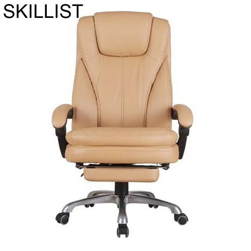 Ergonomic Sandalyeler Lol Chaise De Bureau Ordinateur Fotel Biurowy Leather Poltrona Silla Gaming Cadeira Office Chair