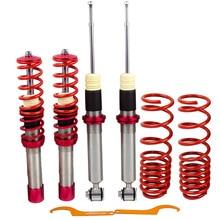 4 sztuk Coilover amortyzator dla BMW E39 serii 5 520i 525i 530i 535 540i cewki zestaw zawieszenia zawieszenie