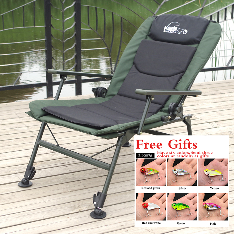 European Style Fishing Chair Multifunctional Folding Chair Sway Can sit and lying Fishing Stool Angling Supplie fishiing chair|Fishing Chairs| |  - title=