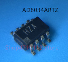 Free shipping 10PCS/LOT NEW AD8034ARTZ AD8034ART AD8034 MARKING HZA SOT23-6