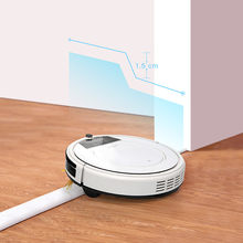 Robot Vacuum Cleaner Fmart E-R550WS APP and Voice Control with Water Tank for Wet Mopping Big Suction Auto Recharge Smart Home
