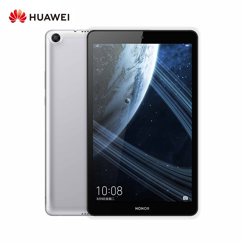 Huawei Honor Pad 5 Tablet 8 Inch 4GB 64GB Kirin 710 Octa Core OTG 8.0MP Face ID 1200x1920 FHD Display 5100mAh - Gray- CN Plug