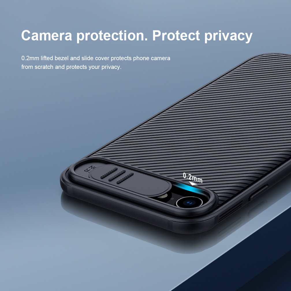 For iPhone SE 2020 SE 2 SE2 Case NILLKIN CamShield Case Slide Camera Protect Privacy Back Cover For iPhone 7 / 8 image