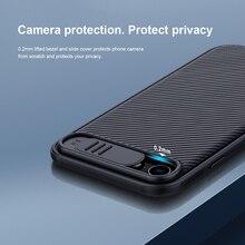 Pour iPhone SE 2020 SE 2 SE2 étui NILLKIN CamShield étui caméra coulissante protéger la confidentialité couverture arrière pour iPhone 7 / 8