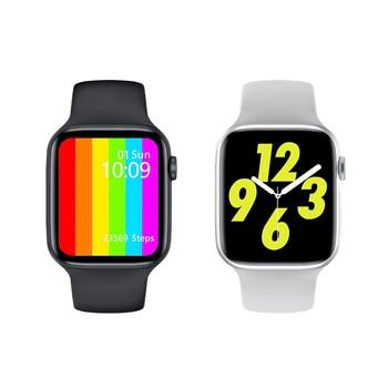 2020 Original Abigail IWO W26 Bluetooth Call Smart Watch Men Women IP68 Waterproof 44mm Smartwatch For Apple Android PK 12 Pro 6 1