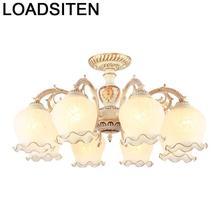 Lampada Deckenleuchte Colgante Moderna Candeeiro Lamp For Living Room Plafondlamp Lampara Techo Luminaria De Teto Ceiling Light