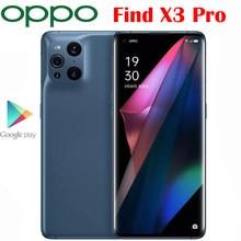 Original Offizielle Neue OPPO Finden X3 Pro Handy 6,7 zoll AMOLED Snapdragon 888 65W SuperVOOC 30W Luft VOOC NFC 50,0 MP Android 11