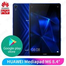 Original Huawei Mediapad M6 8.4 inch 4GB 64GB WIFI tablet PC Kirin980 Octa Core Android 9.0 Google play 6100mAh Type-C 2560×1600
