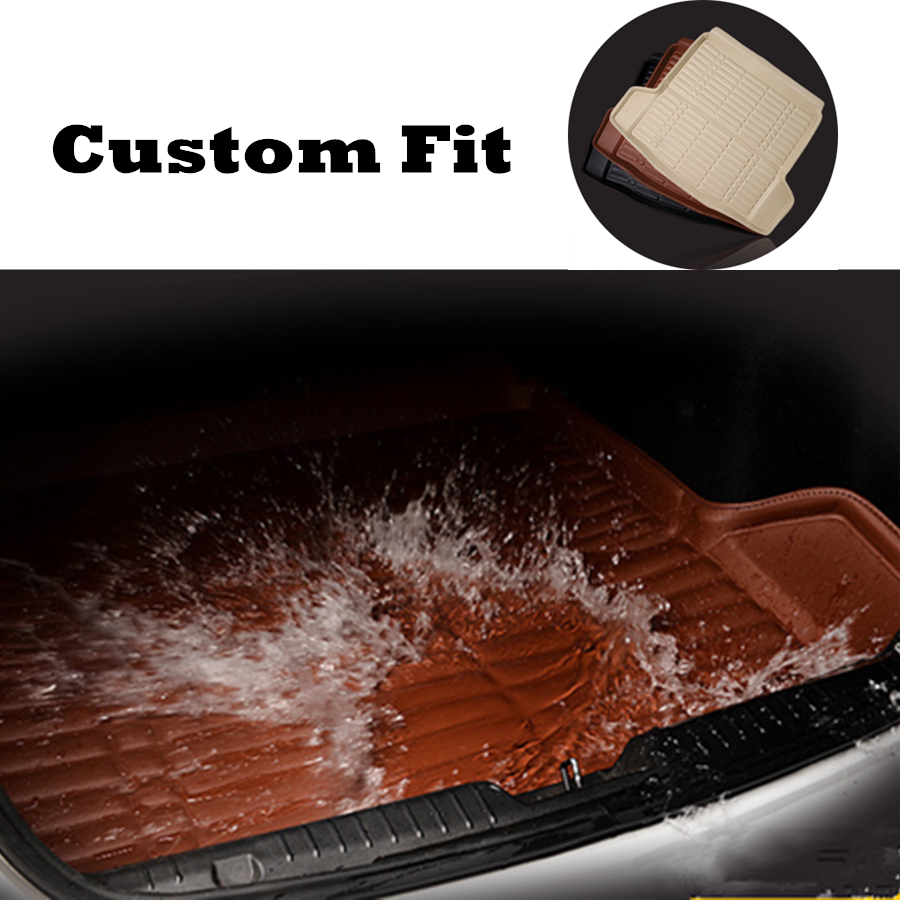 Custom For Honda CRV CR-V 2017 2018 2019 Boot Mat Rear Trunk Mat Cargo Liner Floor Tray Carpet Mud Kick Protector All Weather