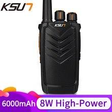 Ksun uhf walkie talkie rádio em dois sentidos walkie talkie rádio comunicador hf transceptor