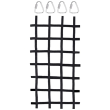 Indoor/Outdoor-Climbing-Net Net-Swing -Playgroundfreight 90-Inches-X-48-Inches