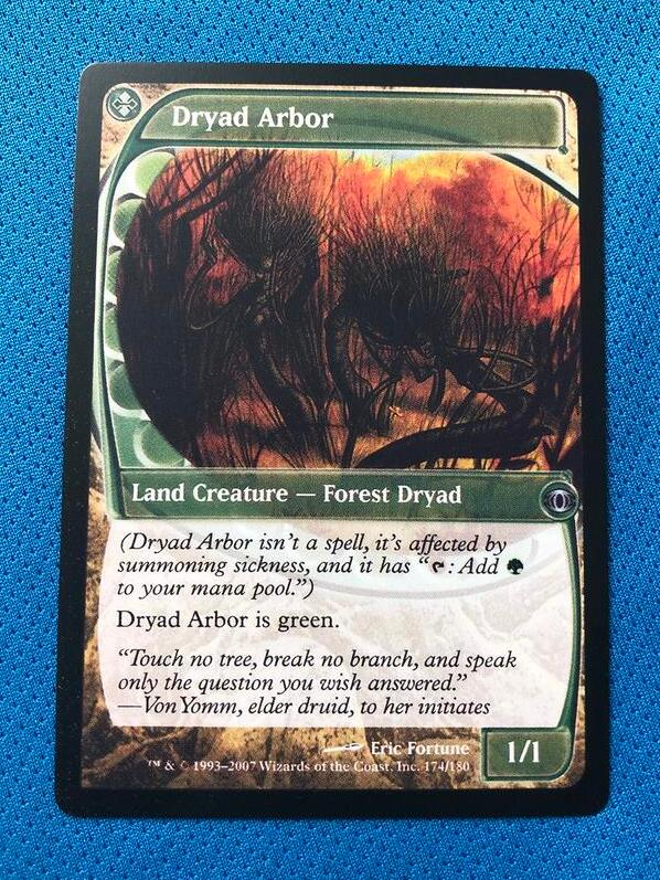 Dryad Arbor FUT (Future Sight) Magician ProxyKing 8.0 VIP The Proxy Cards To Gathering Every Single Mg Card.