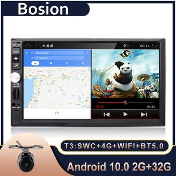 Bosion Android 10.0 7 inch Universal Car Stereo GPS Navigation 2 Din Radio AUX Bluetooth Camera For Volkswagen/Ford fiesta etc image