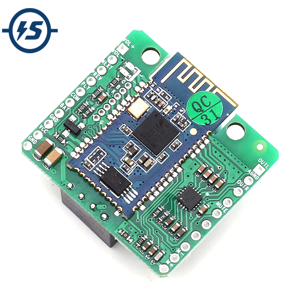 CSR8645 Lossless Music Hifi Bluetooth 4.1 Receiver Board Amplifier Module DC 12V Isolated APT-X for Audio Car Amplifier Speaker