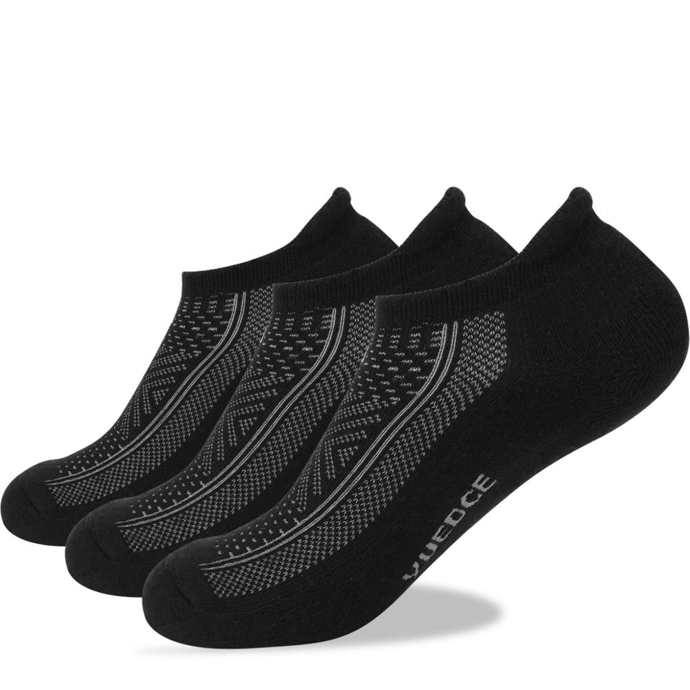 YUEDGE Men Women High Quality Breathable Cotton Cushion Low Cut Ankle Short Summer Sports Cycling Running Socks