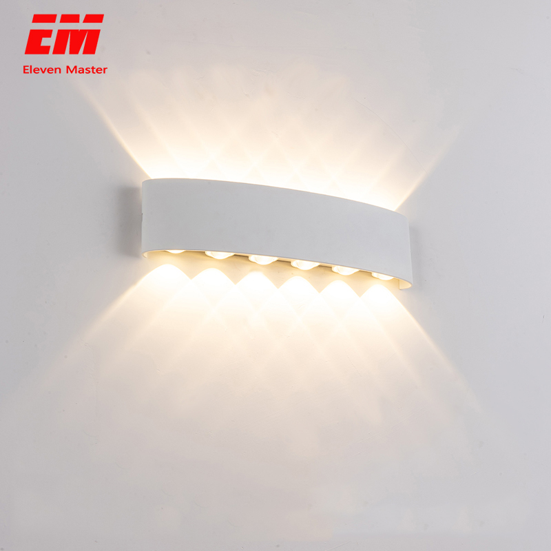 Nordic Wall Lamp Led 12W 8W 6W 4W Aluminum Outdoor Indoor Ip65 Up Down Modern For Home Stairs Bedroom Bedside Bathroom ZBW0010